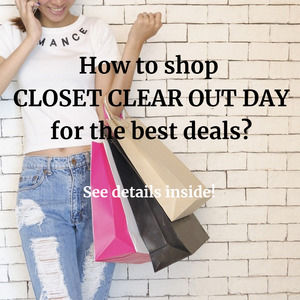 Shop Closet Clear Out for the Best Prices!